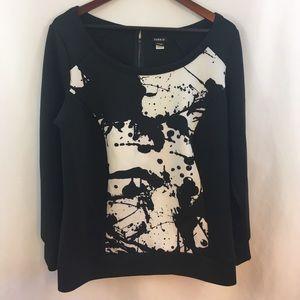Torrid Sweatshirt 1X Women's Top Geometric